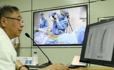 我国完成全球首例5G骨科手术